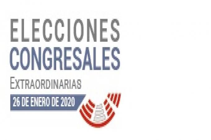 Photo of ELECCIONES CONGRESALES EXTRAORDINARIAS 2020