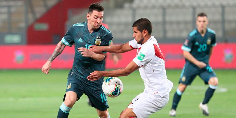 Perú cae 2-0 de local frente a Argentina - La Visión