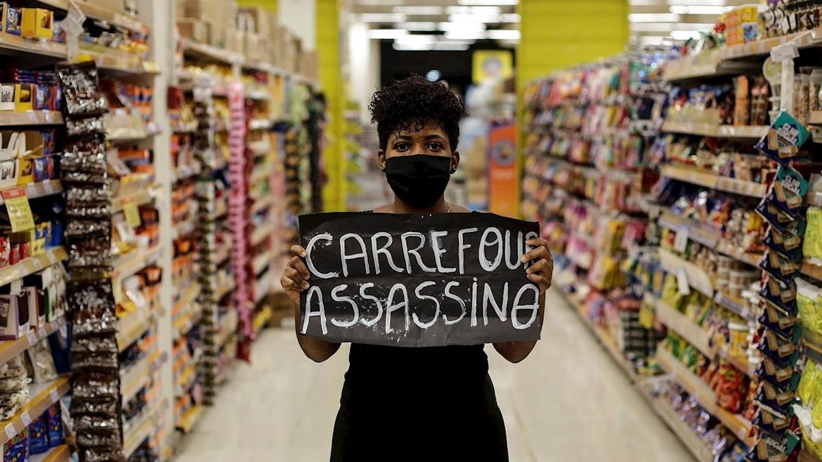 Protestas en Brasil por un brutal asesinato comparado con el de George Floyd - La Visión