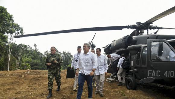 Colombian Presidency (AFP)